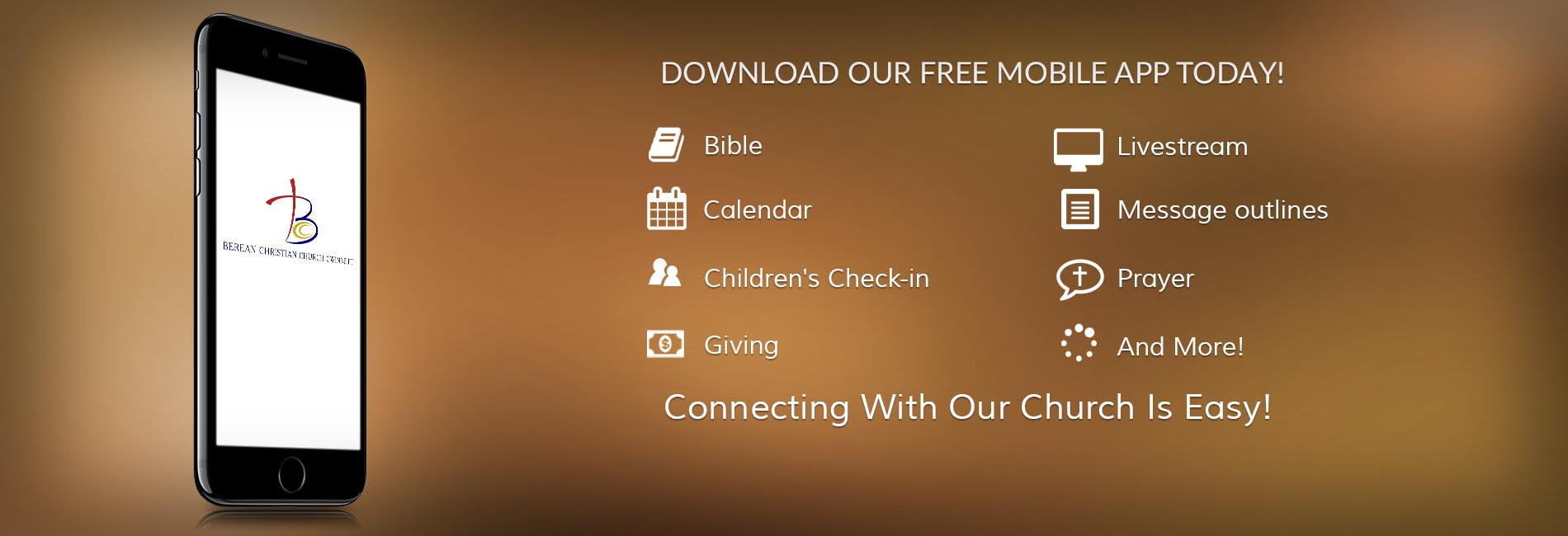 Berean Gwinnett App Download